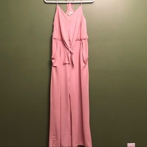 Pink Rose Jumpsuit (with pockets)